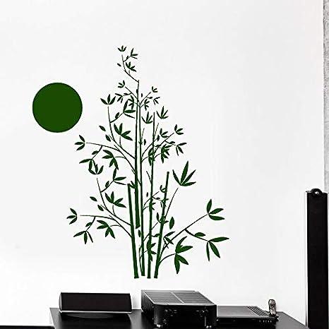 Árbol Con Bambú Tatuajes de pared Naturaleza Selva Decoración ...