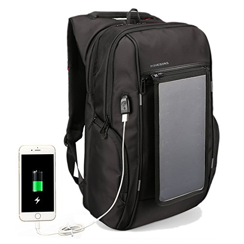 Backpack With Solar Panel - 8