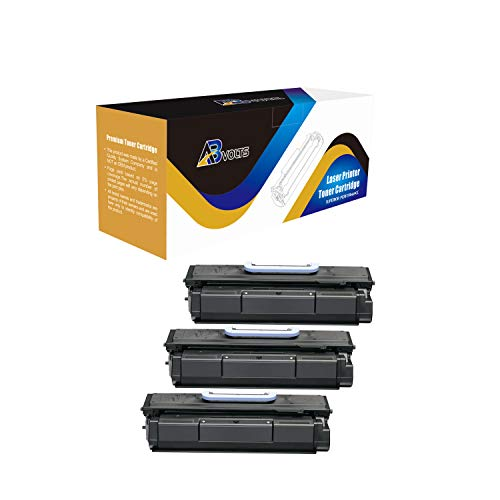 Imageclass Mf7460 Laser - AB Volts Compatible Toner Cartridge 105 for Canon 105 ImageClass D7280 Bubble Jet BJC 411F Laser ImageClass 7280 Multi Function ImageClass MF7460 MF7470 | Rated for 10000 Pages - 3 Pack Black
