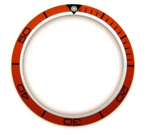 Bisel Insertar para reloj de Omega Seamaster Planeta Océano Naranja: Amazon.es: Relojes