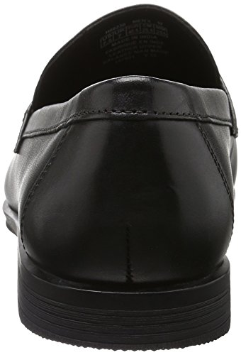 Rockport Style Connected Penny, Mocasines para Hombre Negro (Black Leather)