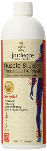 Jadience Muscle & Joint Pain Relief Herbal Bath - 16oz - Sore Muscles, Swollen Joints, Pulled Muscle & Back Pain Management