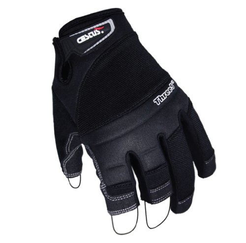 Cestus Trade Series Three5 Framing Glove, Work, Cut Resistant, X-Large, Black (Pack of 1 Pair)