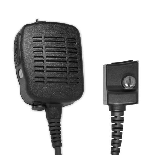 ARC S51016 Heavy Duty Anti-Magnetic Speaker Shoulder Microphone for Harris (MA/COM) P-Series Two Way Radios by ARC
