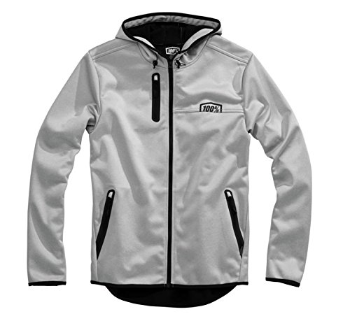 100% Mission Hooded Jacket (SMALL) (SMALL)