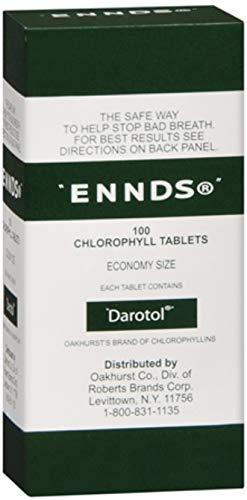 - Ennds Chlorophyll Tablets 100 Tablets (Pack of 7)