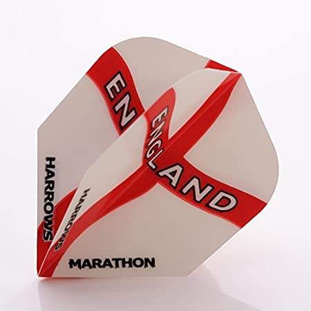 England Standard Shape Harrows Marathon Dart Flights