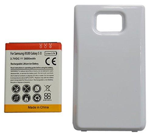 Amazon.com: 3600mAh Batería Extendida con Carcasa Blanca ...