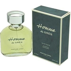 homme de gres cologne by parfums gres for men eau de toilette spray oz 75 ml. Black Bedroom Furniture Sets. Home Design Ideas