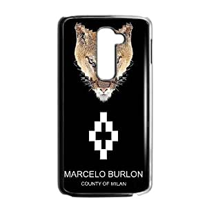 LG G2 Cell Phone Case black MARCELO BURLON LOGO FDHFGHFG846082