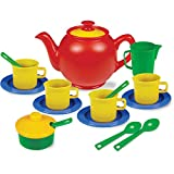 Durable Children's Tea Set, Pretend Play Tea Set for Little Girls & Boys