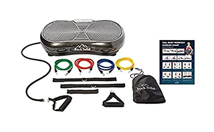 amazon com rock solid whole body vibration machine with 2 year