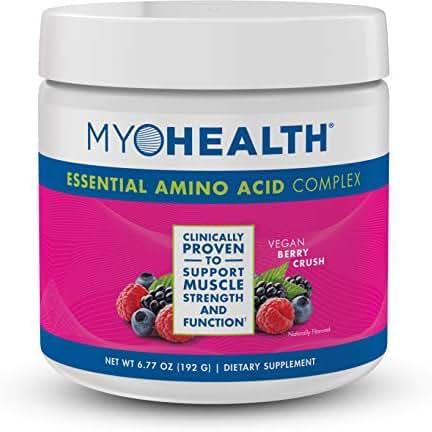 MyoHealth Essential Amino Acid Complex Berry Crush Powder (30 Servings)