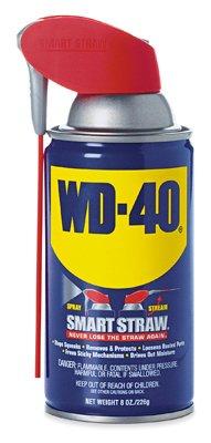- WD-40 Company Wd-40 490026 Aerosol Lubricant, Smart Straw, 8-oz. - Pack of 12