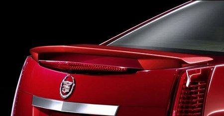 Accent Spoilers-Cadillac CTS 2-Post 4-Door Sedan Factory Style Spoiler-Black Paint code: WA8555 ()