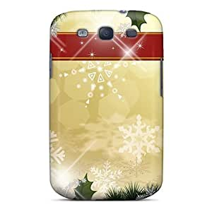 New GulkqYV431UhlaR Bright For The Holidays Skin Case Cover Shatterproof Case For Galaxy S3
