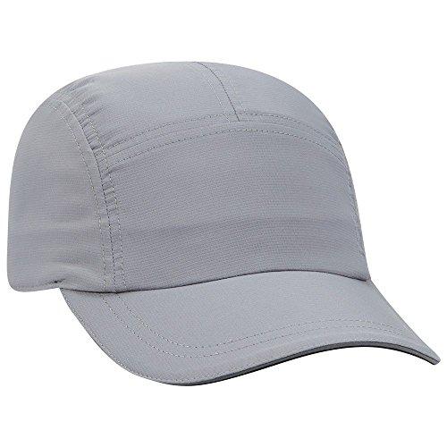Product of Ottocap Five Panel Low Profile Melton Wool Blend Cap -Gray [Wholesale Price on Bulk]