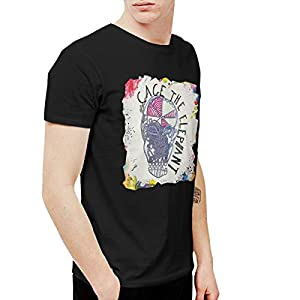BowersJ Cage The Elephant Men's Tshirts Black