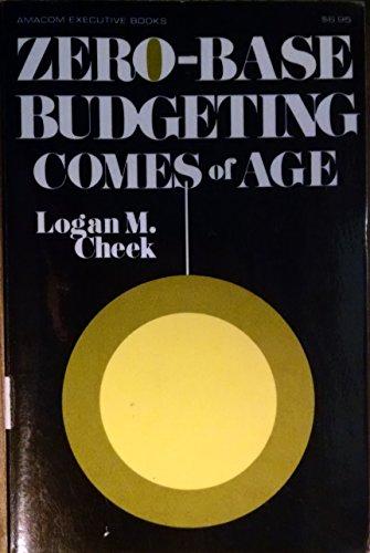 Zero-Base Budgeting Comes of Age