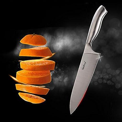Cuchillo de chef Cuchilla (de acero inoxidable cuchillos de ...