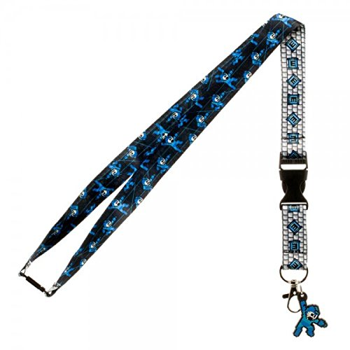Sublimated Lanyard - Capcom Mega Man 8 Bit Lanyard