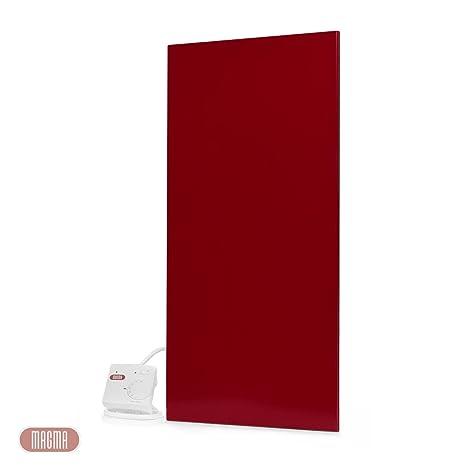 Magma metálico de calefacción por infrarrojos 400 Vatios (colour rojo), 25 años de