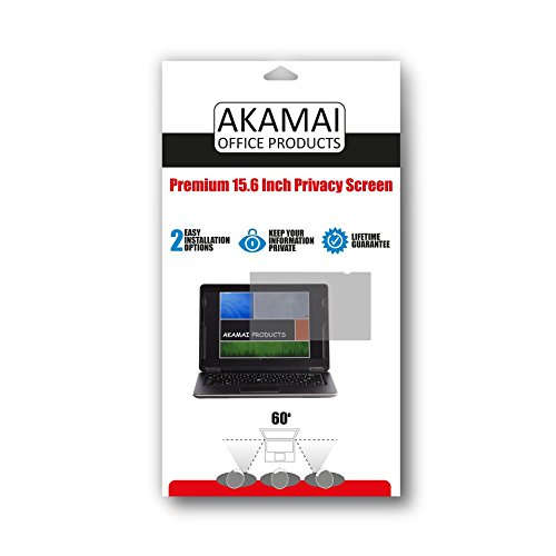 Akamai Office Products 15.6 Inch (Diagonally Measured) Privacy Screen Filter for Widescreen Laptops Anti Glare by Akamai Office Products (Image #7)
