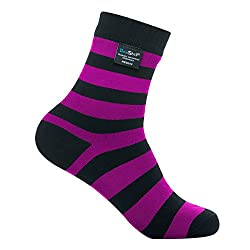 DexShell Ultralite Bamboo Waterproof Socks Large Pink