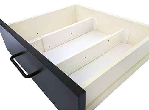 Adjustable Drawer Dividers And Drawer Organizer By DrawerZen   Clutter Free  Kitchen Bathroom Bedroom Dresser Drawer