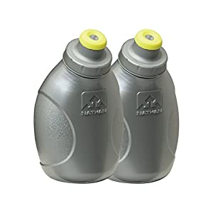 Nathan Replacement Flasks with 10-Ounce Push-Pull Caps, Silver
