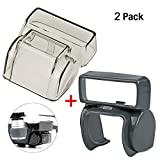[2-Pack]DJI Spark Gimbal Lens Cover and Lens Hood Accessories,Hapurs Camera Lens Cover Cap Gimbal Protector with Sun Shade Lens Hood Glare Guard for DJI Spark