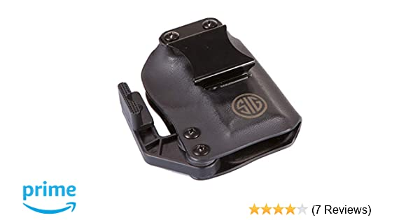 Amazon.com : Sig Sauer IWB P365 Right Hand Black Holster : Sports & Outdoors