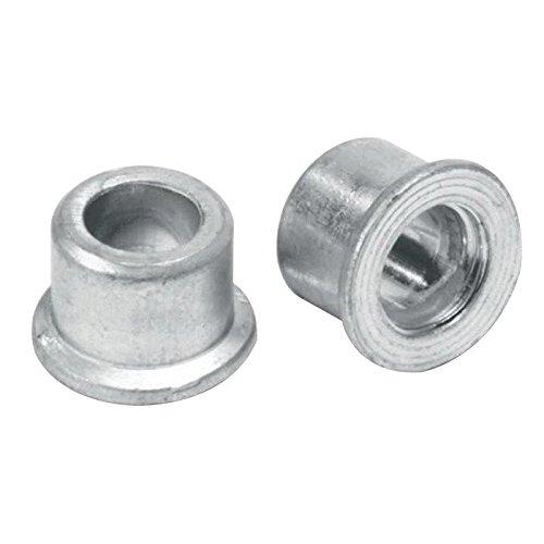 (QS-QUICK SHIP) Huck Magna-GR MGC-R12U Lockbolt Collar; 3/8 Inch (0.375 Inch), Standard FLNG Collar, Grade 2 Steel, Zinc