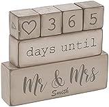 Ganz Personalized 6 Piece Wooden Block Wedding