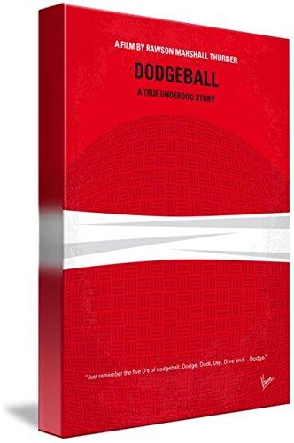 Wall Art Print entitled My Dodgeball Minimal Movie Poster by Chungkong