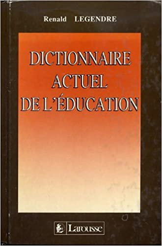 Téléchargement Dictionnaire actuel de l'education pdf, epub