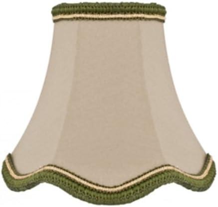f/ür E14-Lampe H 130 Lampenschirm Stoff Aufsteckschirm