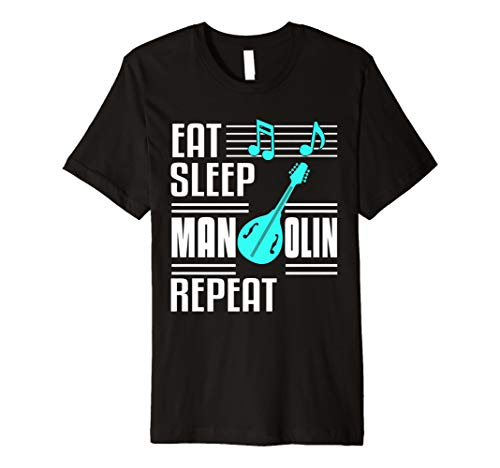 Mandolin Shirt Player Orchestra Gift Lute Musical Instrument