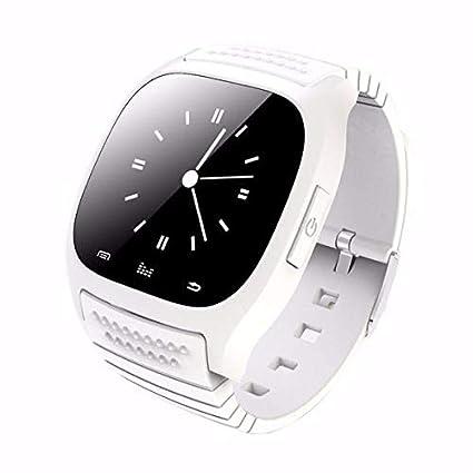 Amazon.com: LPENGBXB Latest multilinggual Bluetooth Smart Watch reloj inteligente Fashion for Phone xiaomi Huawei. (Color : Blue): Electronics