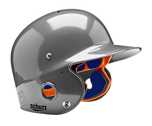 Schutt Sports Junior OSFM 2742 AIR PRO 4.2 Batter's Helmet, Metallic Silver - Senior Softball A As
