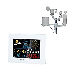 Briers B6135 Premium Weather Station Outdoor Clock