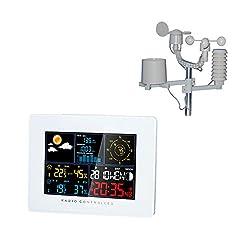 Briers B6135 Premium Weather Station Outdoor Clock