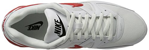 NIKE Max Sneaker Air Herren University White Elfenbein Command Black Red rZxwrEOaq