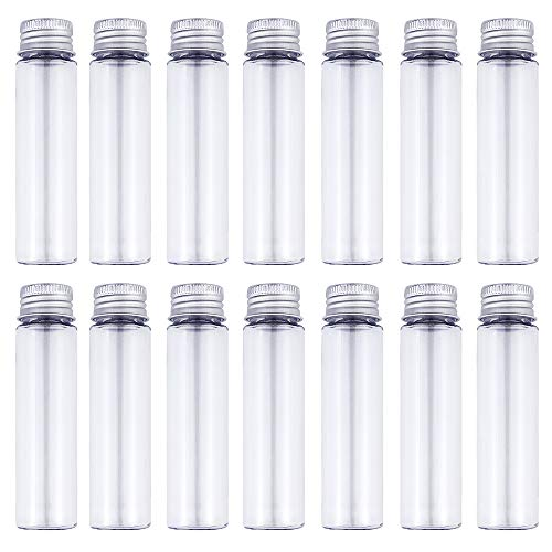 50ml Clear Flat Plastic Test Tubes with Screw Caps Pack of 30 by DEPEPE Review and Comparison