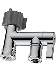RinseWorks - Aquaus Bidet Sprayer Metal / Brass T- Adapter Connector for Toilet - NSF Certified - 3-Year Warranty - American Made