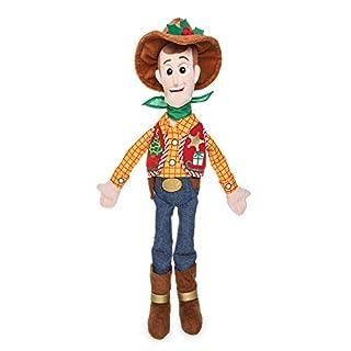 Disney Pixar Woody Holiday Plush Doll – Toy Story – Medium – 18 Inch