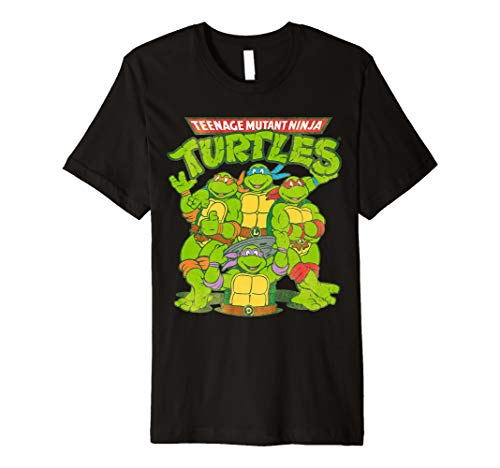 TMNT All Ninja Turtles With Names  Premium