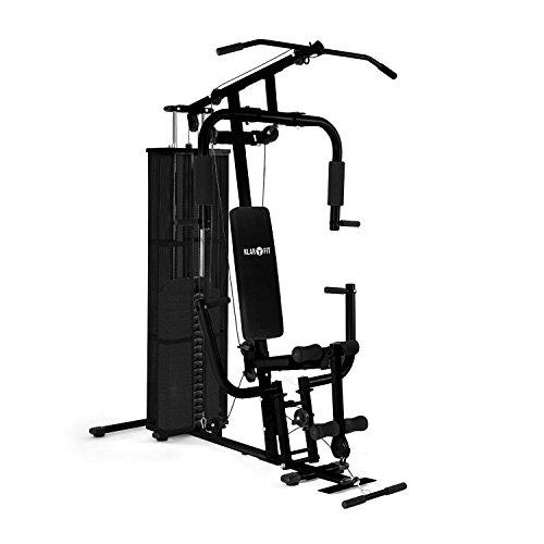 Le banc de musculation complet elliptiforme - Banc de musculation guide ...