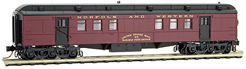 Micro-Trains MTL N-Scale Heavyweight RPO Passenger Car Norfolk Western/NW #95