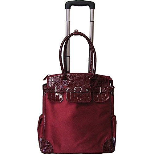 amerileather-deluxe-skylar-womens-large-rolling-laptop-tote-red